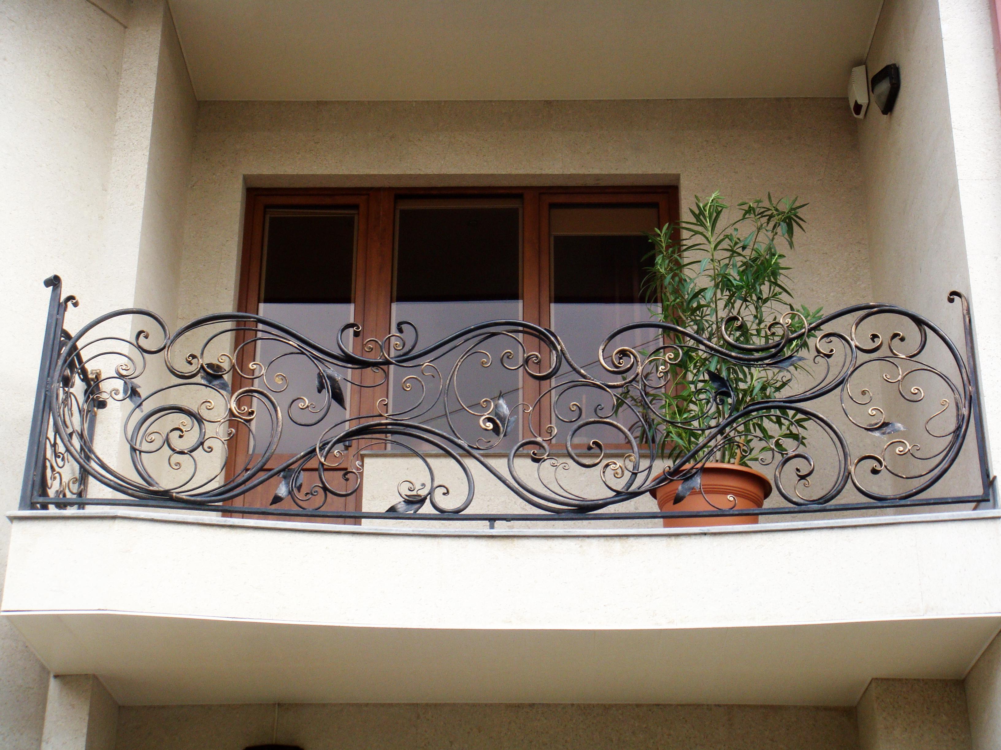 Балконы кованные дизайн
